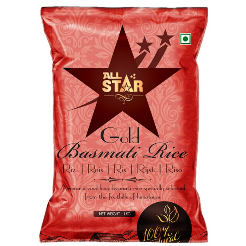 All Star Gold Basmati Rice 25kg