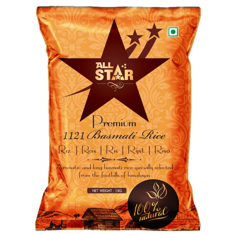 All Star Premium Basmati Rice 10kg